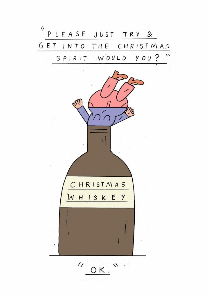 Alternative (and funny) thortful Christmas cards