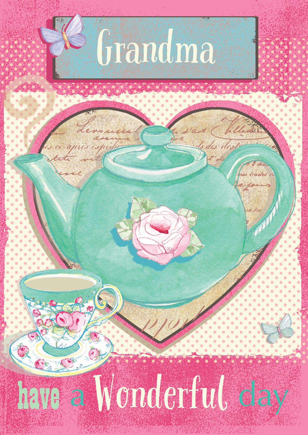 Mother's Day card for Grandma, Nanny, Grandmother